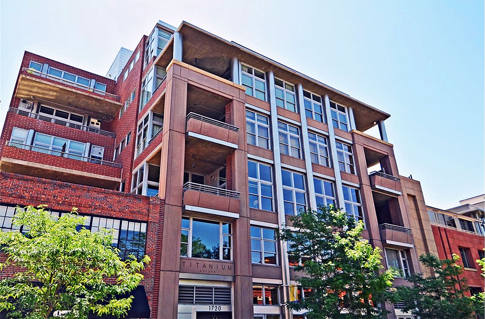 Downtown lofts for sale at Titanium Lofts 3 bed 2 bath with 2 parking spaces